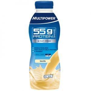 Multipower 55g Protein shake vanilla 550ml