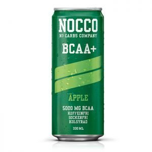 NOCCO BCAA+ Äpple 330ml Sockerfri