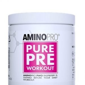 PWOPRO Pure Pre-workout, 210g, Hallon