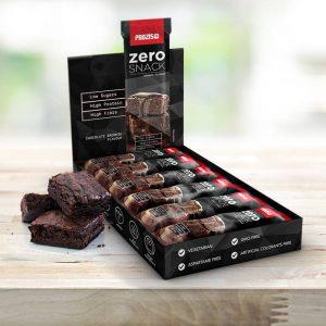 Prozis Chokladbrownie - 12 x Zero Snack 35 g