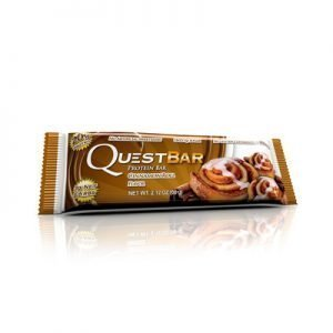 Questbar proteinbar cinnamon 60g