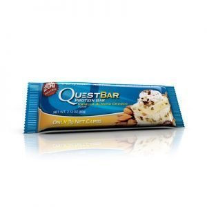 Questbar proteinbar vanilla almond crunch 60g