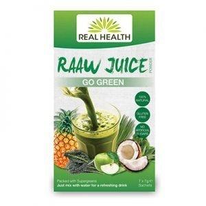 Raaw Juice Go Green 7x7g EKO RAW VEG
