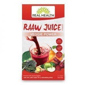 Raaw Juice Veggie Power 7x7g EKO RAW VEG