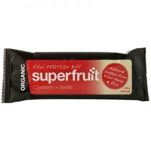 Raw protein bar tranbär vanilj 50g EKO