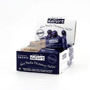 Taste of Nature blueberry Nova Scotia field bar 40g EKO