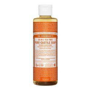 Tea Tree PureCastile Liquid Soap 240ml EKO