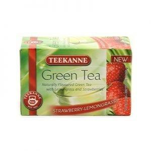 Teekanne grönt te jordgubb/citron 20p