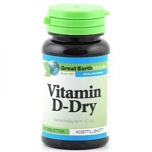 Vitamin D Dry 90t