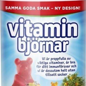 Vitaminbjörnar 60 st tuggisar