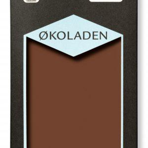 Ã?koladen Chokolade mørk mælk 47% Ã? kakaobønner fra Peru - 75 G