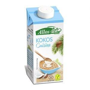 Allos Kokosgrädde Cuisine Eko - 200 ml