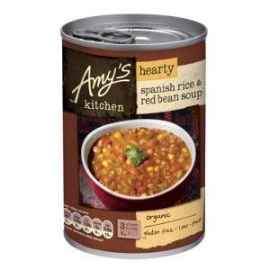 Amy s Kitchen Spansk Ris & Rød Bønnesuppe Ã? - 416 G
