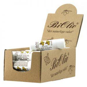 BiOliv Läppsalva Honung EKO - 5 ml