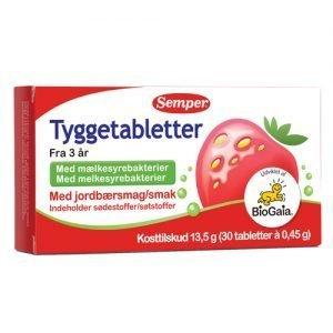 Biogaia Tuggtabletter Semper - 30 Stk