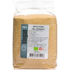 Biogan Amaranth Ekologisk - 500 G