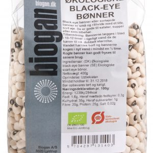 Biogan Bönor Black Eye Eko - 400 G