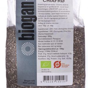 Biogan Chiafrön Ekologisk - 500 G