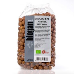 Biogan Hasselnötter Ekologisk - 500 G