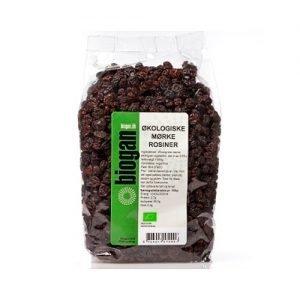 Biogan Russin Mörka Ekologisk - 1 Kg