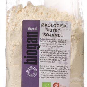 Biogan Sojamjöl Rostat Ekologisk - 500 G
