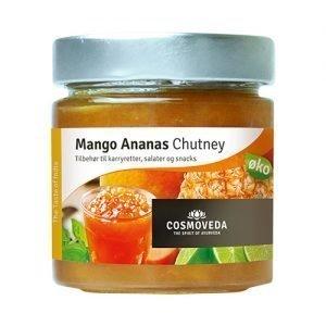 Chutney Mango Ananas Ekologisk - 225 G