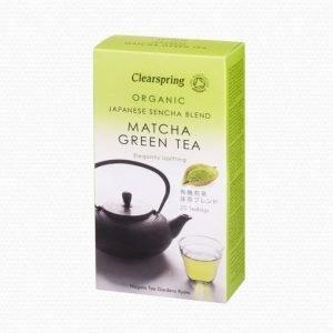 Clear Sencha Matcha Grönt Te Ekologiskt - 20 Påse