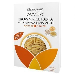Clearspring Gluten Free Brown Rice Pasta With Quinoa & Amaranth - 250 G