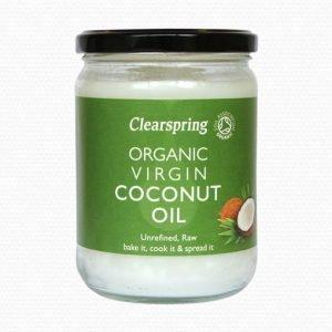Clearspring Virgin Coconut Oil Ekologisk - 200 Gram