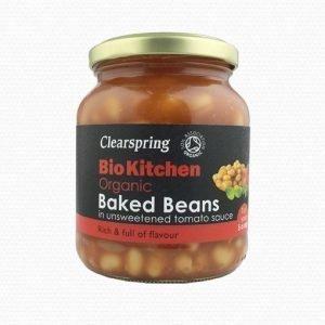 Clearspring Vita Bönor i Tomatsås - 350 Gram