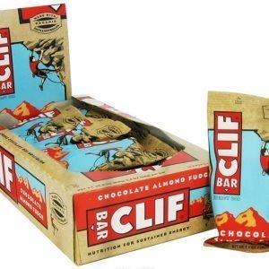 Clif Bar Choklad Mandel Fudge - 68 Gram - 12 Bare