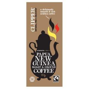 Clipper Kaffe Papua Nya Guinea Malet Eko - 227 G