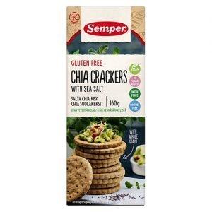 Crackers Chia - 160 G