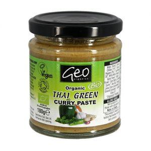 Currypasta Grön Chai Glutenfri Ekologisk - 180 G