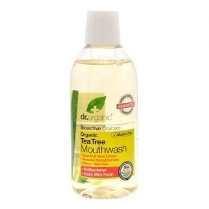 Dr. Organic Munskölj Tea Tree - 500 ml