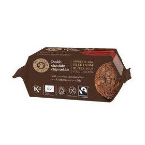 Dubbel Choklad Cookies Eko - 180 G