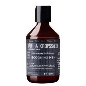 Ecooking Men Hår och duschtvål - 250 ml