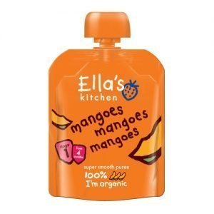 Ellas Kitchen Babypuré Mango 4+ Mån. Eko - 70 G