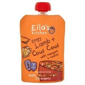 Ellas Kitchen Eko Pure Lamm Couscous Mango Russin - 130 Gram