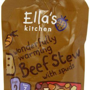 Ellas Kitchen Wonderfully Warming Beef Stew 7+ Mån. Eko - 130 Gram