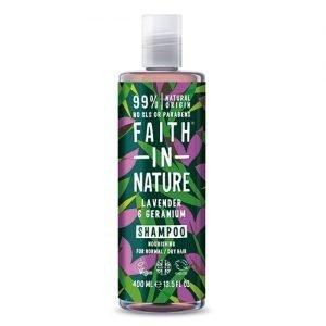Faith in Nature Shampoo Lavendel & Geranium - 400 ml