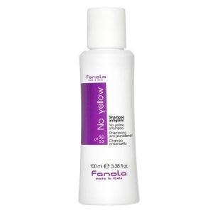 Fanola No Yellow Shampoo 100ml - Blont, blekt och grått hår