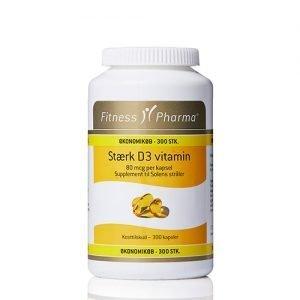 Fitness Pharma Eko Stark Vitamin D3 - 300 Kaps