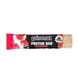 Gainomax Proteinbar m. hindbær - 60 G