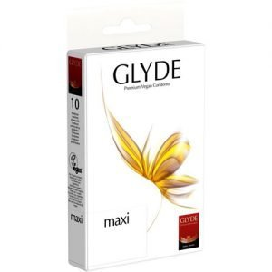 Glyde Kondomer Vegan Naturgummi Maxi - 1 Pake