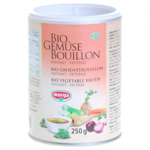 Grönsaksbuljong Glutenfri Instant Ekologisk - 250 G