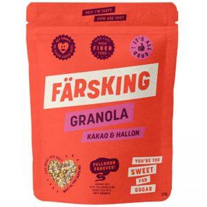 Granola Kakao & Hallon - 20% rabatt