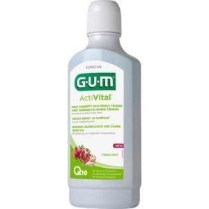Gum Activital Fluor Munskölj - 500 ml