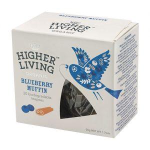 Higher Living Bluebery Muffin te - 20 Påse