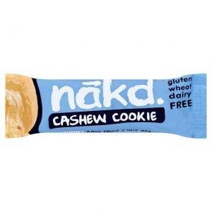 Nakd Bar Cashew Cookie 35g - 35 Gram - 18 Bare